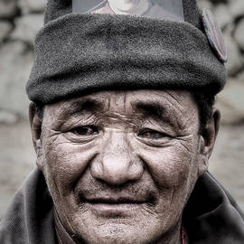 Ladhaki nomad by Murray Rudd