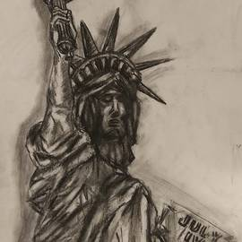 Lady Liberty by Ryan Bevel