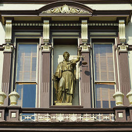 Lady Of Justice - Virginia City by Glenn McCarthy Art and Photography