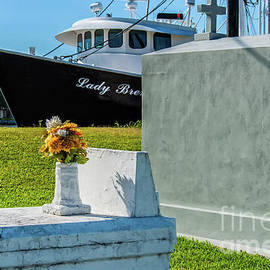 Lafitte Cemetery on the Bayou by Kathleen K Parker