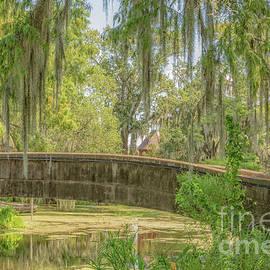 Lagoon Bridge City Park New Orleans by Kathleen K Parker