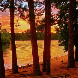 Lake Allatoona Victoria Landing by Jennifer Stackpole