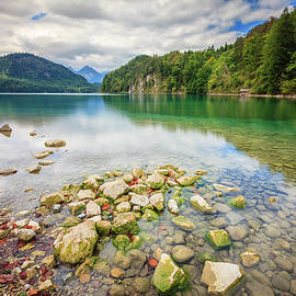 Lake Alpsee by Alexey Stiop