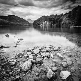 Lake Alpsee BW by Alexey Stiop