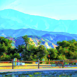 Lake Cachuma Campground by Floyd Snyder