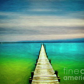Lake Chiemsee by Edmund Nagele