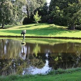 Lake in Green by Michaela Perryman