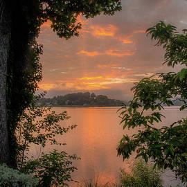 Lake Junaluska Summer Sunrise by Robert J Wagner