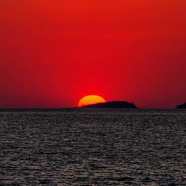 Lake Kariba Sunset by John Haldane