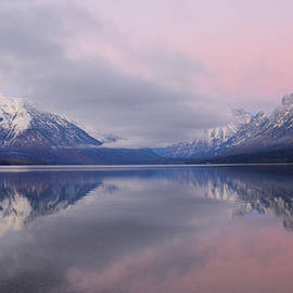 Lake McDonald at Sunset by Whispering Peaks Photography