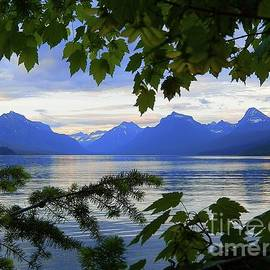 Lake McDonald Montana Art Print by Art Sandi