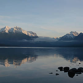 Lake McDonald Reflection 2020 by Whispering Peaks Photography