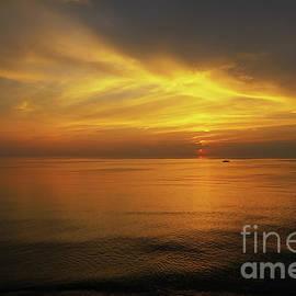 Lake Michigan Sunset Cruise by Rachel Cohen