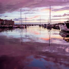 Lake Norman Reflections by Serge Skiba
