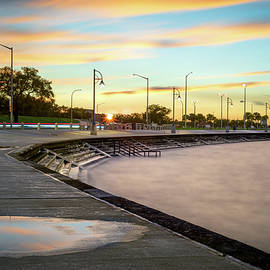 Lake Pontchartrain at Sunset by Chase This Light Photography