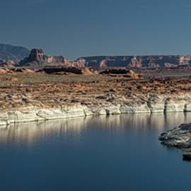 Lake Powell Panoramic by Heidi Fickinger