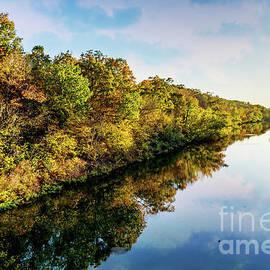 Lake Springfield Autumn Reflections by Jennifer White