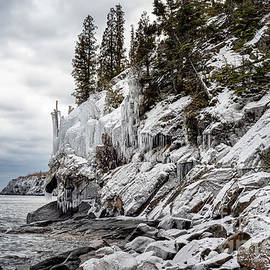 Lake Superior in Winter 01 by KG Photography
