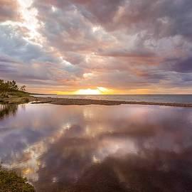 Lake Superior Sunset by Susan Rydberg