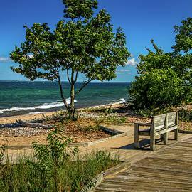 Lake Superior View by Deb Beausoleil