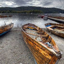 Lake Windermere Boat by Paul Thompson
