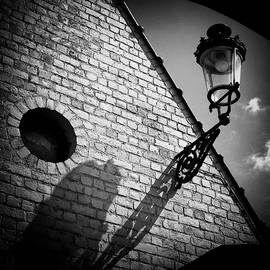 Lamp with Shadow by Dave Bowman