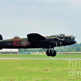 Lancaster - Fly By by Mick Harman