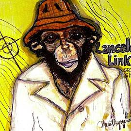 Lancelot Link Secret Chimp by Geraldine Myszenski
