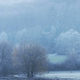 Landscape in Frost by Tobias Luxberg