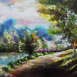 Landscape Painting by Asp Arts