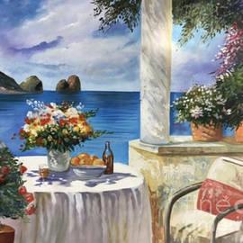 Landscape Painting On Canvas Sunset Painting Scenery Painting Acrylic Landscape Painting by Manish Vaishnav