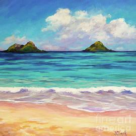 Lanikai Beach Oahu by John Clark