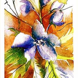 Larkspur by Mindy Newman