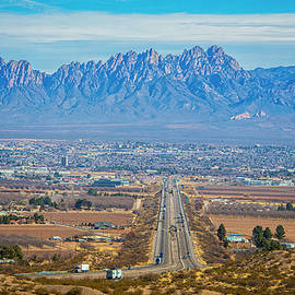 Las Cruces' Rest Stop with a View by Lynn Bauer