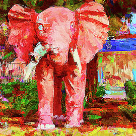 Las Vegas Pink Elephant  by Tatiana Travelways