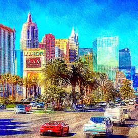 Las Vegas Strip at Luxor by Tatiana Travelways