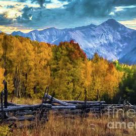 Last Dollar Road Colorado by Janice Pariza