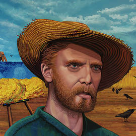 Last moments of Vincent van Gogh Painting by Paul Meijering