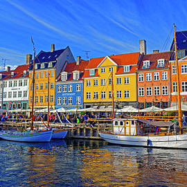 Late Afternoon in Nyhavn, Copenhagen by Brian Shaw
