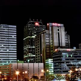 Late at Nite in Indy by Frozen in Time Fine Art Photography