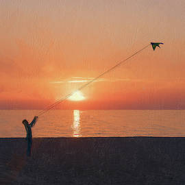 Lets Go Fly A Kite by Robert Deering