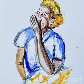 Laughing Woman by Patty Donoghue