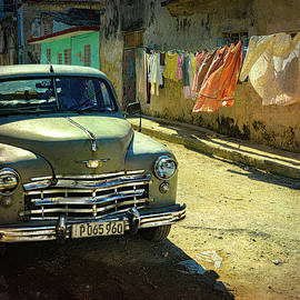 Laundry And Old Cars by Chris Lord