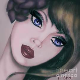 Lavender Gaze 4 by Tara Shalton