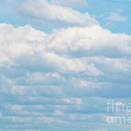 Layers of Clouds by Ruth H Curtis