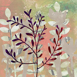 Leafy Tree Abstract by Nancy Merkle