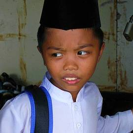 Leaving for Islamic school 1 by Robert Bociaga