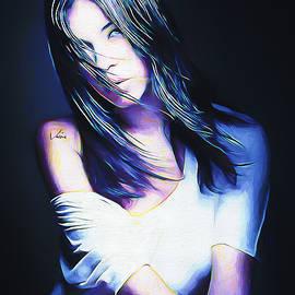 Lena portrait by Nenad Vasic