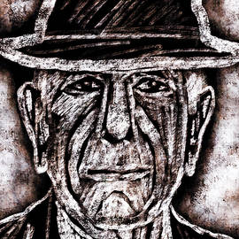 Leonard Cohen - Canadian Icon by Peggy Collins
