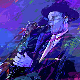 Lester Young Prez by David Lloyd Glover